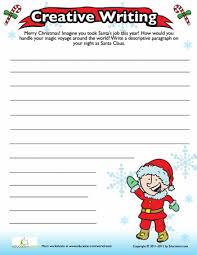 christmas writing prompt christmas writing worksheets and christmas writing prompt
