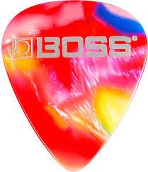 <b>Boss BPK</b>-<b>12</b>-MH Celluloid Mosaic <b>Heavy</b> 12 Pack <b>медиаторы</b> для ...