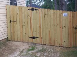 how to install wood fence panels on uneven ground 1119262 orig