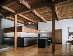 modern loft furniture. Furniture:Modern Loft Kitchen Furniture Design With Wooden Ceiling And Black Island Decor Idea Modern O