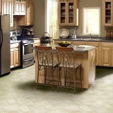 Kitchen Sheet Vinyl Flooring Shop Ivc 12 Ft W Venturi Vader 503 Tile Low Gloss Finish Sheet