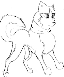 Small Picture Balto Coloring Pages Steele Balto Coloring Pages With Venom