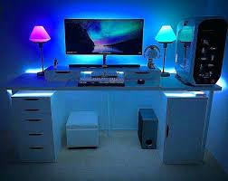 led lighting strips for home. Best Led Light Strips Strip Ideas Computer Desk Lights On For Home Lighting