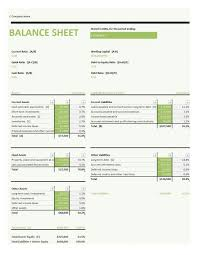 Basic Balance Sheet Template Excel Excel Template Simple Balance Sheet Free Seo Spreadsheet