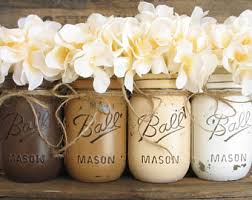 Decorated Mason Jars For Sale ON SALE NOW Set Of 100 Mason Jars Painted Mason Jars Pink 15