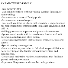 pin by agyei tyehimba on food thought family roles  empowered family as opposed to dysfunctional family