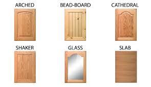 types of cabinet doors cabinet door style names