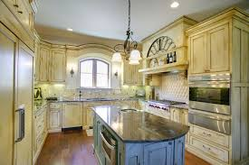 yellow and white painted kitchen cabinets. Antique White Painted Kitchen Cabinets With A Glaze Yellow And C