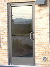 commercial entry doors glass front door