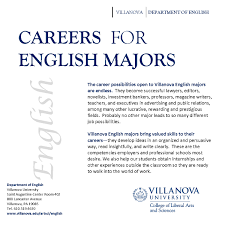 careers for english majors