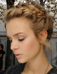 Tresse Coll E Couronne Peinados Pinterest Homecoming