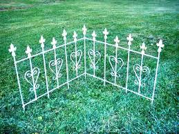 metal garden border image of metal garden fencing black metal garden border fence