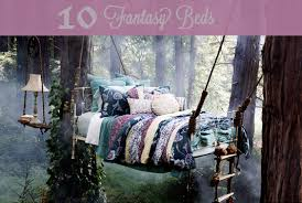 ten fantasy beds. a nap, now that's a fantasy