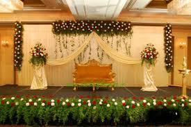 hall decoration for wedding reception