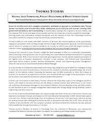 Resume Bio Example Extraordinary Executive Bio Template Conciertoco
