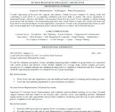 Human Resource Resume Objective Human Resource Resume Objective Resources Examples Manager Skills 45