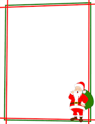 christmas santa borders and frames. Exellent Christmas Santa Claus Border For Christmas Borders And Frames L