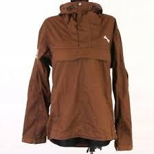 Details About T Bergans Mens Outdoor Jacket Hood Brown Size M