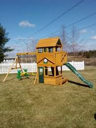 Big Backyard Playsets  ToysBig Backyard Ashberry Wood Swing Set