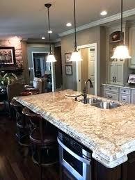 brown granite white kitchen cabinets ideas with dark countertops worktops make
