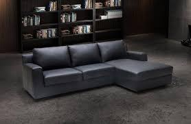 j m elizabeth premium grey leather sectional sleeper sofa right hand chase reviews sku18242 sectional