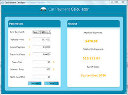 Car Payment Calculator With Extra Payment Free Payment Calculators Free Car Payment Calculator