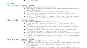 Head Start Teacher Assistant Sample Resume Custom Infant Teacher Resume Assistant Sirenelouveteauco