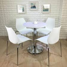 cheap gourd small round table to discuss chairs combination dessert reception office sales black side tables china ce approved office furniture reception desk
