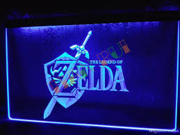 Neon Signs For Home Decor LH100b Legend Of Zelda Video Game Neon Light Sign Home Decor Shop 97