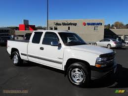 2000 Chevrolet Silverado 1500 Z71 Extended Cab 4x4 in Summit White ...