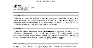 Sap Resume Sample Best Of Sap Fico Resume Sample 24 Techtrontechnologies