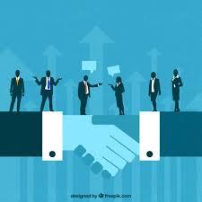 Business deal concept Vector | Premium Download