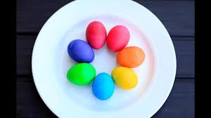 Easter Egg Dye Color Chart Mccormick Infographic