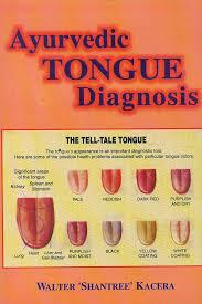 Ayurveda Tongue Chart Ayurvedic Tongue Diagnosis Preface By David Frawley Amazon