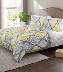 yellow and gray damask reversible duvet cover set from better homes and gardens at