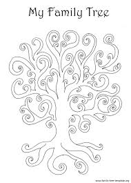 Drawing A Family Tree Template Family Tree Template Resources