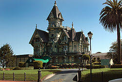 famous american architecture. The Carson Mansion Located In Eureka, California Is Considered One Of Finest Examples American Queen Anne Style Architecture. Famous Architecture
