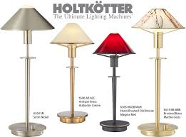 holtkotter s glass or metal shade lamp series