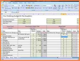 wedding spreadsheet 7 wedding venue spreadsheet costs spreadsheet