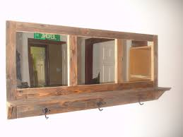 Mirror Coat Rack Wall Mirror With Shelf And Hooks Best Image Is Loading With Wall 74