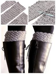 Boot Cuff Pattern Inspiration Easy Reversible Crochet Boot Cuffs Free Pattern Crochet And