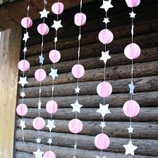 baby shower chandelier decor pink baby girl baby shower mobile nursery hanging decor in party backdrops