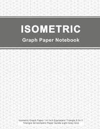 Isometric Graph Paper Notebook Peter Graph Paper Book In