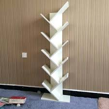 creative simple bookshelf shelves tree display rack shelf storage decorative frame for children shaped diy tree shaped bookshelf desktop racks