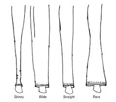How To Draw Pants How To Draw Stylish Cuffs And Hems On Fashion Pants Dummies