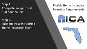 florida home inspection license