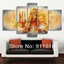 Online Shop Hand-painted Artwork Dance Bamboo Beauty High Q. Wall Decor  Landscape Oil Painting On Canvas 5pcs/set Musical Instruments Art |  Aliexpress ...