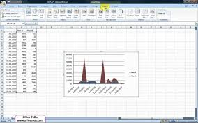 How To Insert Chart Title How To Add A Title To The Chart Excel 2007