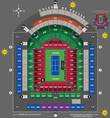 Disclosed Rogers Cup Toronto Seating Chart 2019