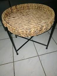 round cane coffee table in gold coast